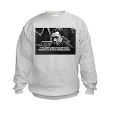 Albert Camus Motivational Kids Sweatshirt