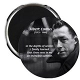 Albert Camus Motivational Magnet