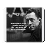 Albert Camus Motivational Mousepad