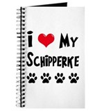 I Love My Schipperke Journal