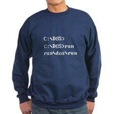 C: DOS run Sweatshirt