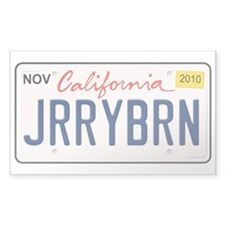 Jerry Brown for California Sticker (10 pk)