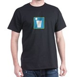 Beer Pong Black T-Shirt