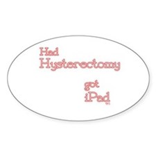 Unique Hysterectomy Decal