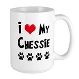 I Love My Chessie Mug