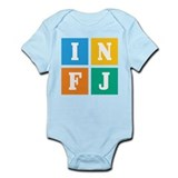Myers-Briggs INFJ Infant Bodysuit