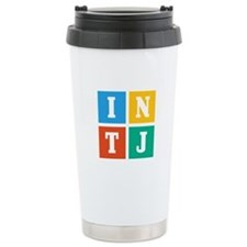 Myers-Briggs INTJ Ceramic Travel Mug