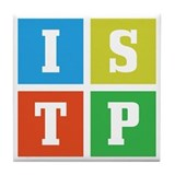 Myers-Briggs ISTP Tile Coaster