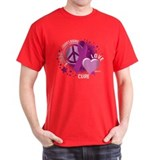 Crohn's Disease Peace Love Cu T-Shirt