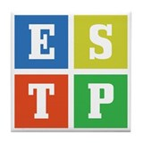 Myers-Briggs ESTP Tile Coaster