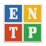 Myers-Briggs ENTP Tile Coaster