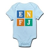 Myers-Briggs ENFJ Infant Bodysuit