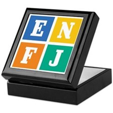 Myers-Briggs ENFJ Keepsake Box
