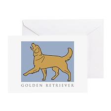Happy Heeling Golden Greeting Card