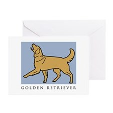 Happy Heeling Golden Greeting Cards (Pk of 10)