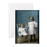Funny Girl photographer Greeting Cards (Pk of 10)