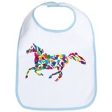 Galloping Horse Bib