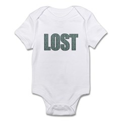 Lost DHARMA Pattern Infant Bodysuit