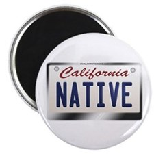 """NATIVE"" California License Plate Magnet"