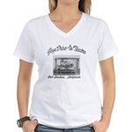 Gage Drive-In Theatre Women's V-Neck T-Shirt
