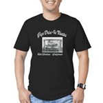 Gage Drive-In Theatre Men's Fitted T-Shirt (dark)