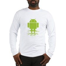 Rooted Android Long Sleeve T-Shirt