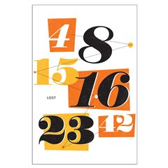The Numbers Large Poster