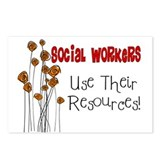 Social Worker III Postcards (Package of 8)