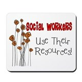 Social Worker III Mousepad