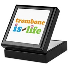 Trombone Is My Life Keepsake Box