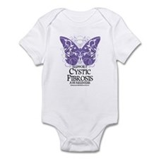 Cystic-Fibrosis Butterfly 3 Infant Bodysuit