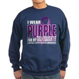 Cystic Fibrosis Purple For My Sweatshirt