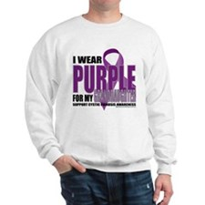 Cystic Fibrosis Purple For My Sweatshirt