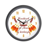 """Kwakiutl"" Wall Clock"