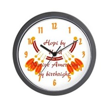 """Hopi"" Wall Clock"