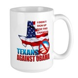 Texans Against Obama Mug