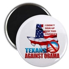 "Texans Against Obama 2.25"" Magnet (100 pack)"