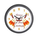 """Seneca"" Wall Clock"