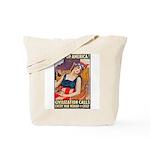 Wake Up America Poster Art Tote Bag