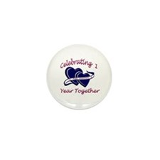 Cute Wedding party favors Mini Button (100 pack)