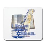 I Stand With Israel - Mousepad