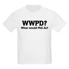What would Phil do? Kids T-Shirt