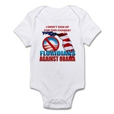 Floridians Against Obama Infant Bodysuit