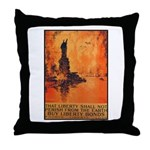 Liberty Shall Not Perish Throw Pillow