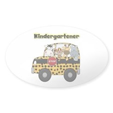 Zoo Animals Kindergarten Decal