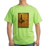 Liberty Shall Not Perish (Front) Green T-Shirt