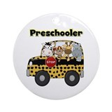 Preschool teacher Round Ornaments
