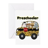 Zoo Animals Preschool Greeting Cards (Pk of 10)