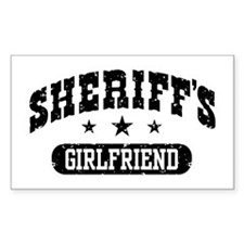 Sheriff's Girlfriend Decal