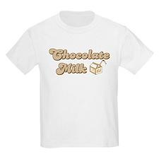 Chocolate Milk Kids T-Shirt